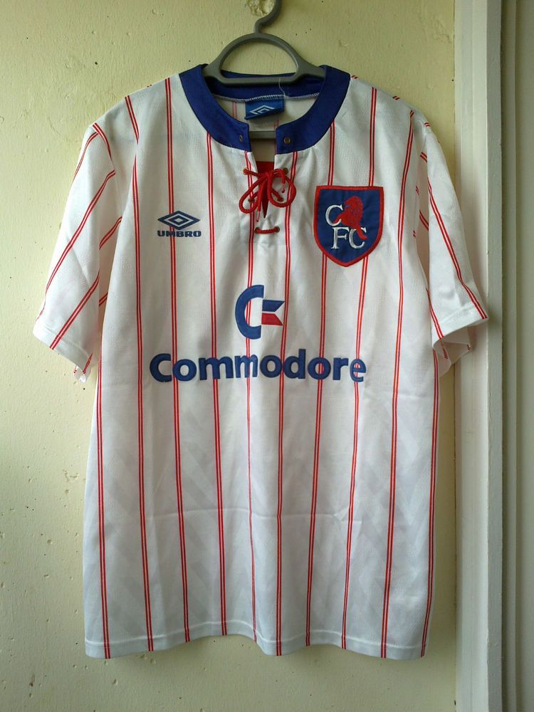 sports shoes cdc18 fb2ad Very rare Vintage 90s Chelsea away shirt , jersey 1992 ...