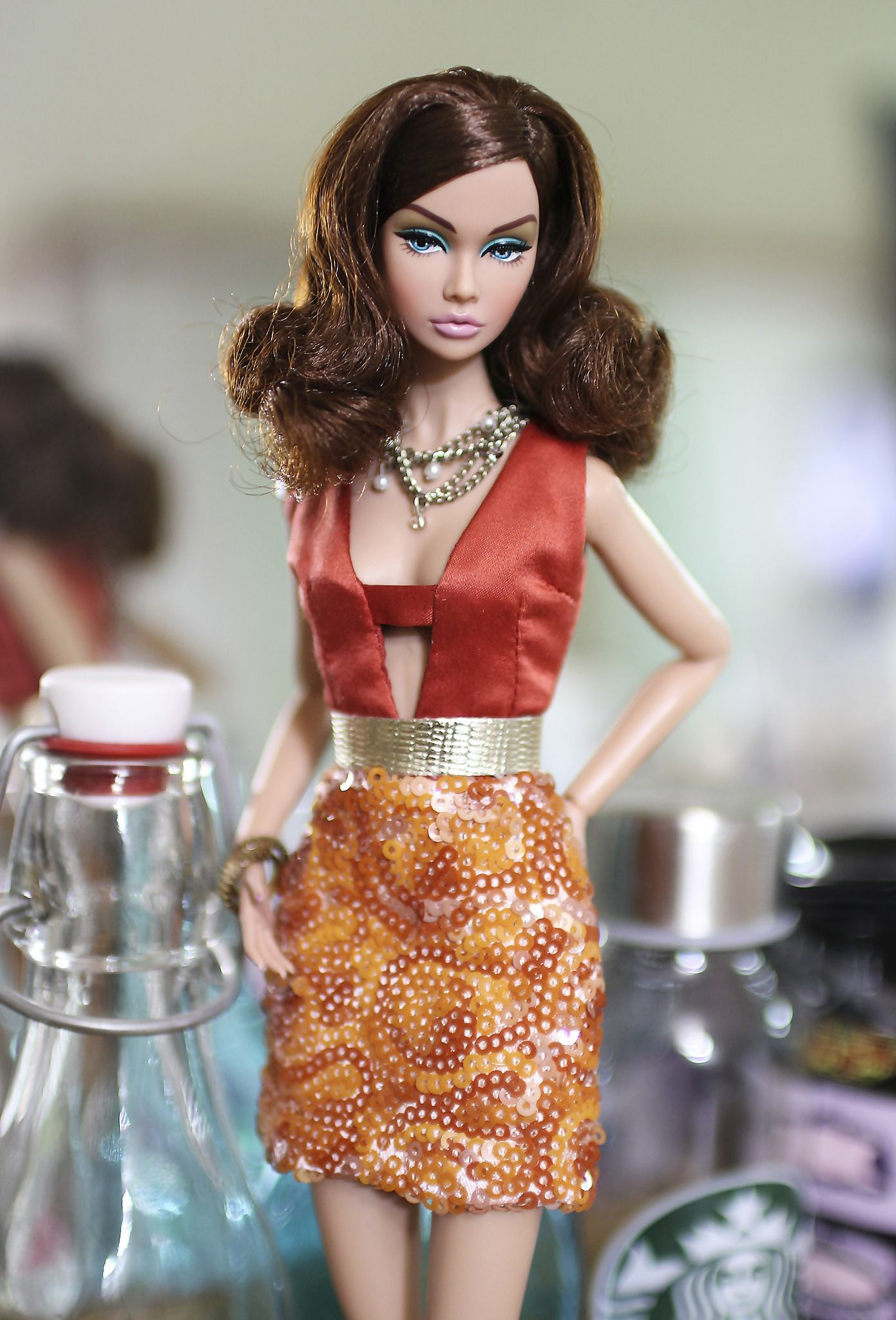 Fashion Royalty Outfit Jacket Hat Poppy Parker Sign of The Times Integrity Doll