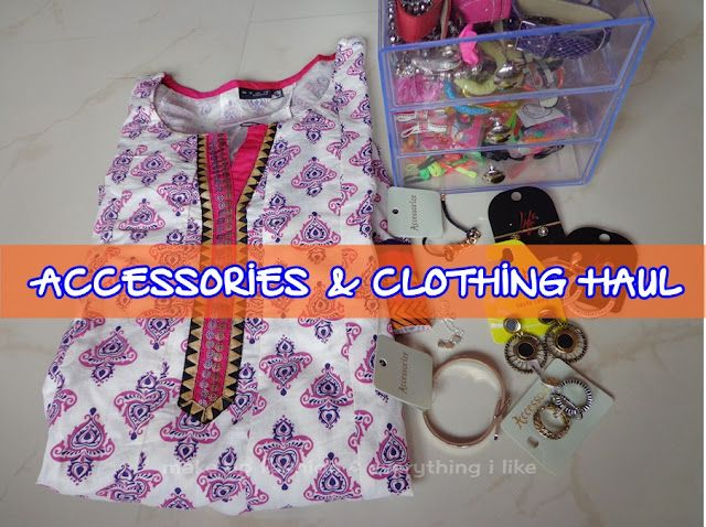 Clothing & accessories Haul!