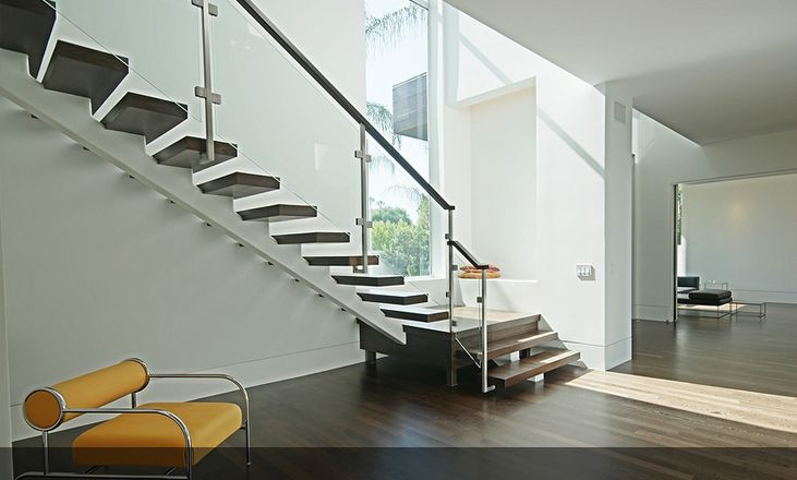 Image Result For Architectural Stairs Residential Open Tread Images