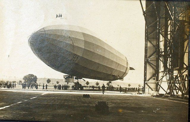 On this day in Aviation 04 Feb 1915 - 1st flight of the Schutte-Lanz SL5, German Airship.