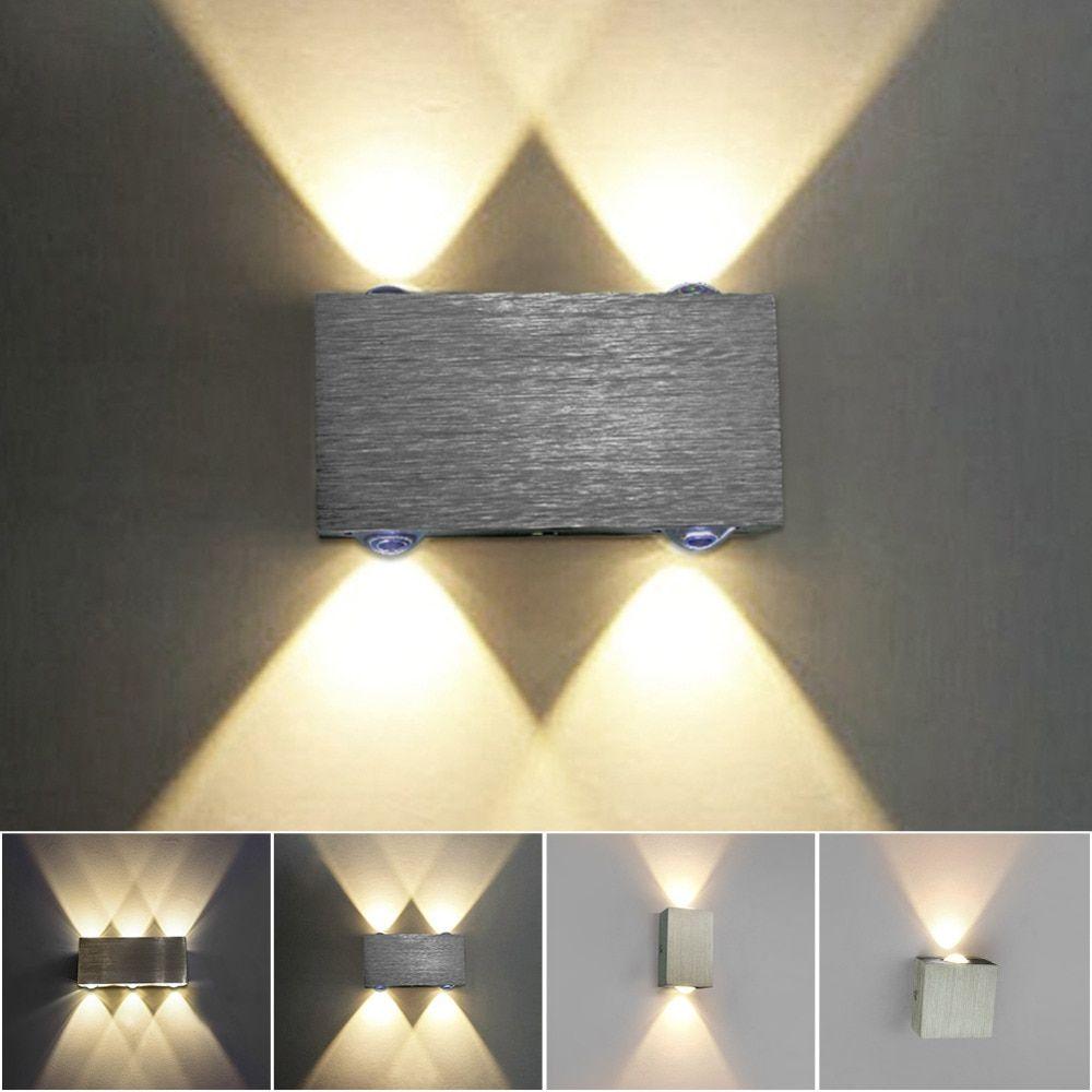 5 12 Modern Sconce Led Wall Lamp Stair Light Fixture Bedroom Bed Bedside Lighting Living Room Home Hallway Loft Led Wall Lamp Wall Lights Wall Lights Bedroom