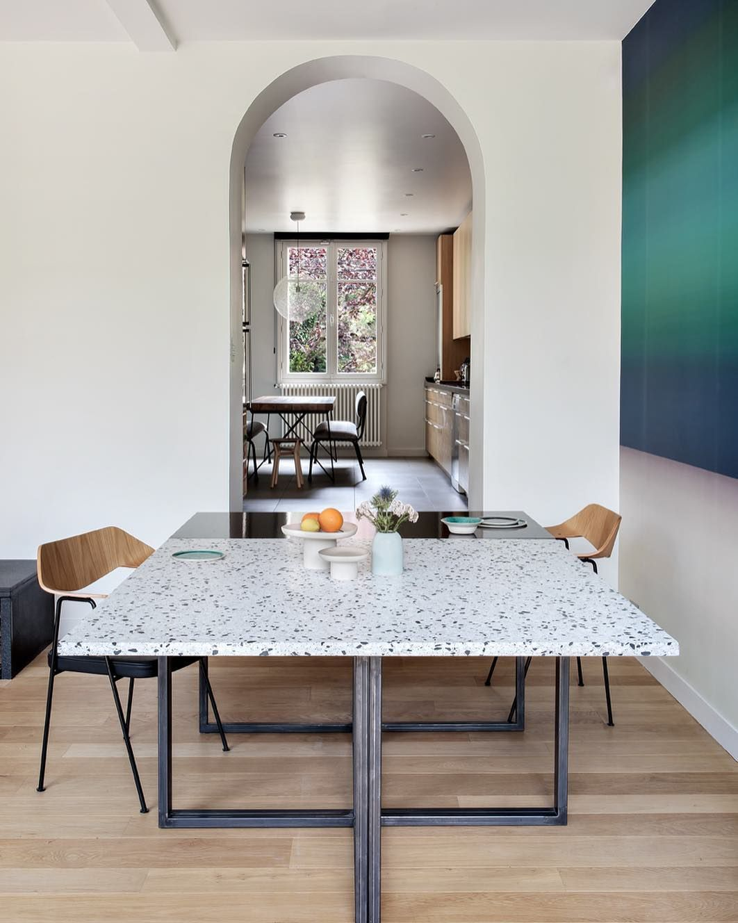 Terrazzo Table Terrazzo Dining Table Marble Modern Dining