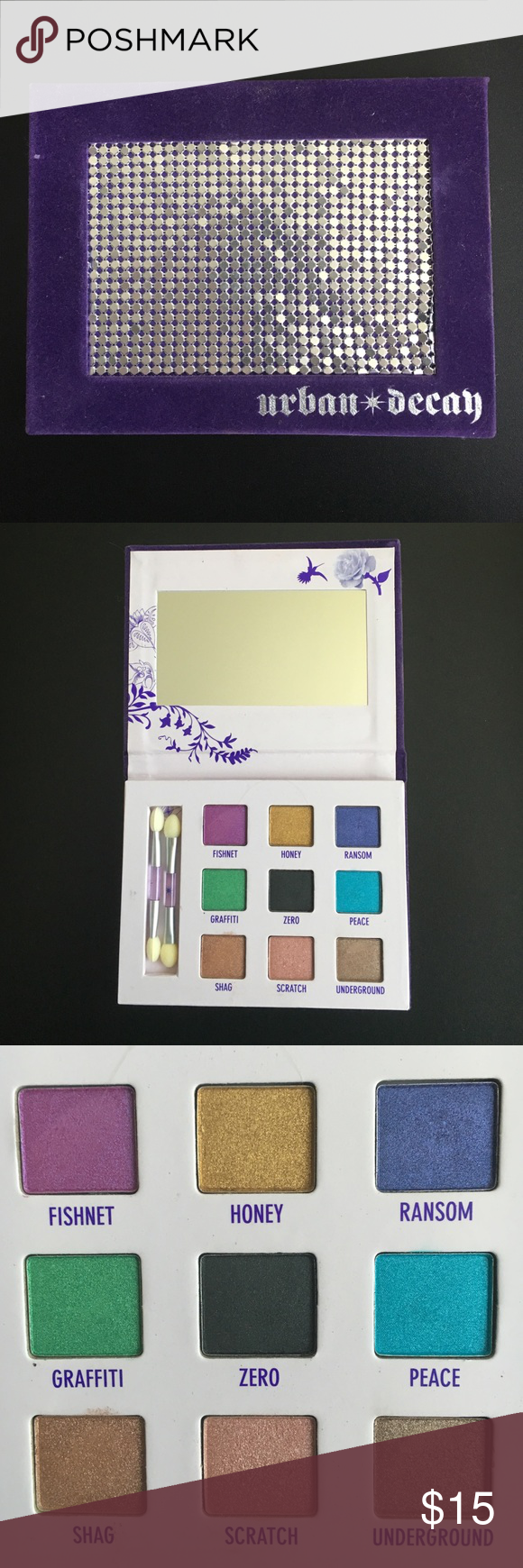urban decay eyeshadow palette older ud eyeshadow palette unsure of