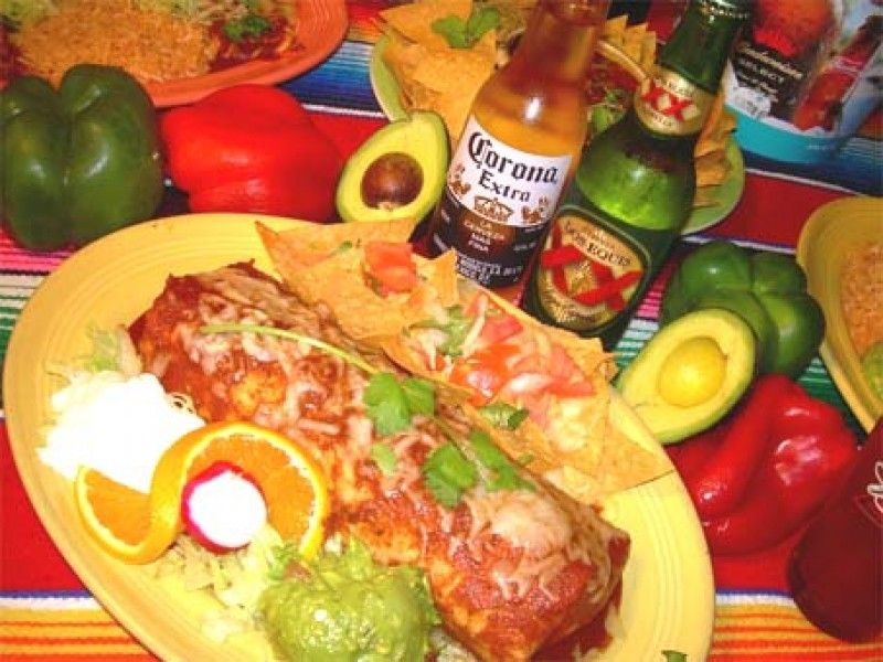 Los Patios Big Burrito Mexican Food San Clemente In Old Town San Clemente,  111 W