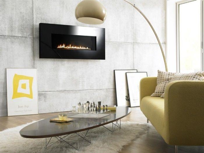 Cheminée design 2015 pour se chauffer avec du style