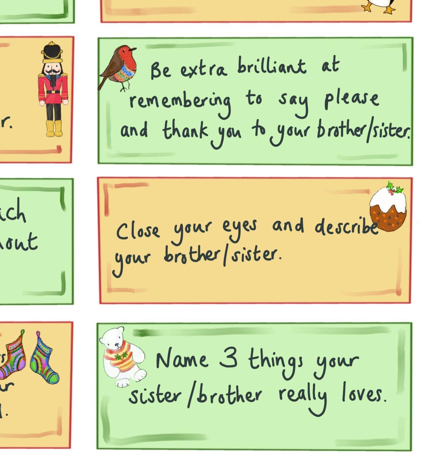 Seasonal Sibling Suggestions Download