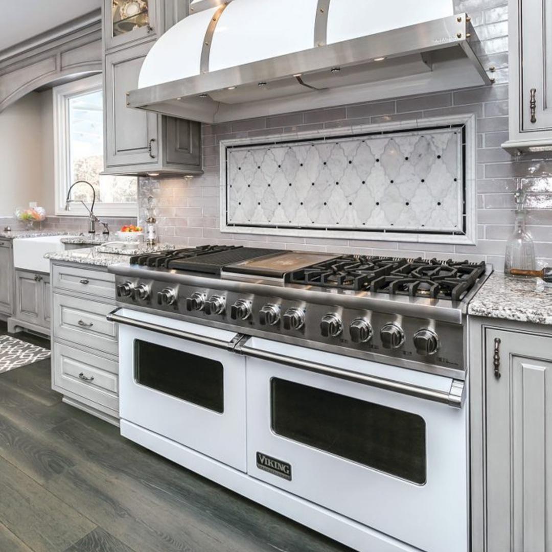 Kitchens we love backsplash for white built