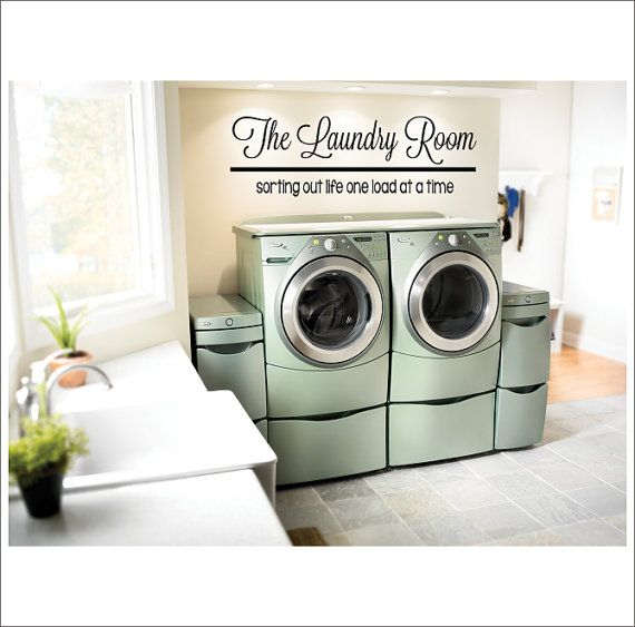 Laundry Decal Wall Decor Adorable The Laundry Room Vinyl Wall Decal Large Vinyl Decor Laundry 2017