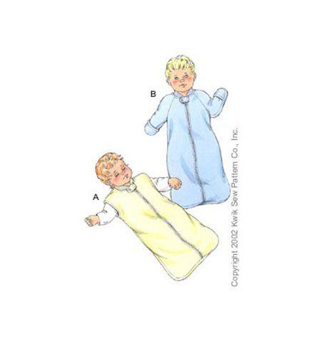K3089 Sleep Sacks Babies Kwik Sew Patterns Lol Quot Baby