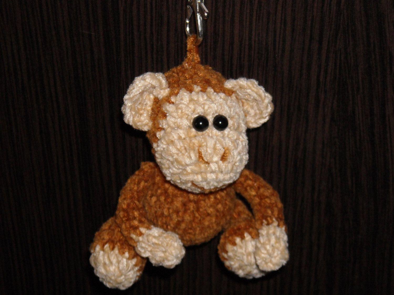 Crochet Monkey Handmade Animal Amigurumi Plush Toy Kawaii Lovely ... | 1125x1500