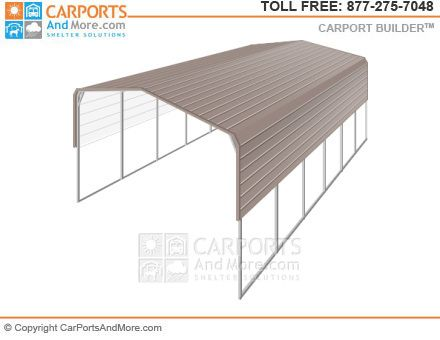 Metal Carport And Garage Kit Builder Carportsandmore Com Carport