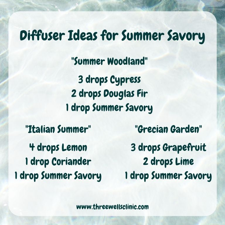 Wondering how to use the Summer Savory oil from doTERRA? Here are ...