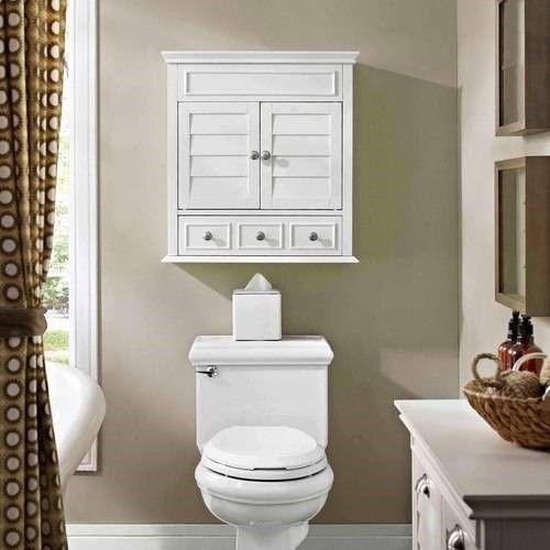Crosley Lydia Medicine Cabinet In White Bathroom Storage Cabinet Bathroom Wall Cabinets Bathroom Decor