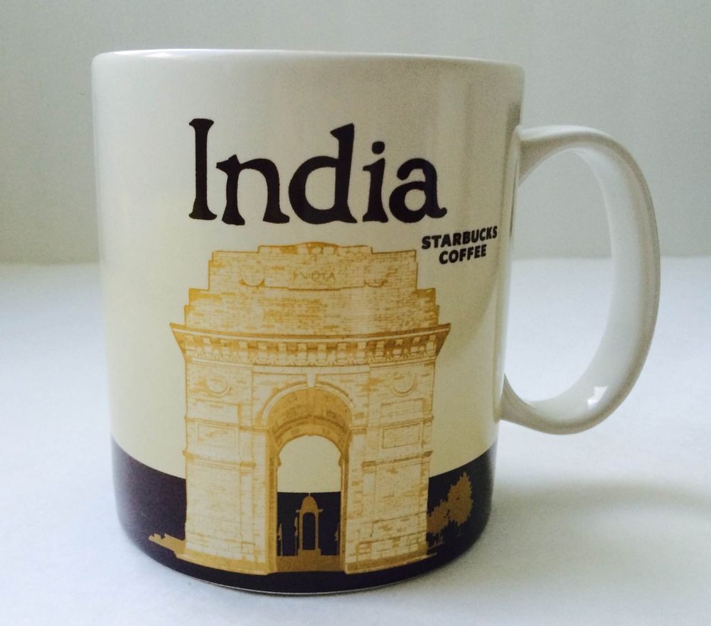 INDIA Original Starbucks City Mug 14 Oz Coffee Tea ...