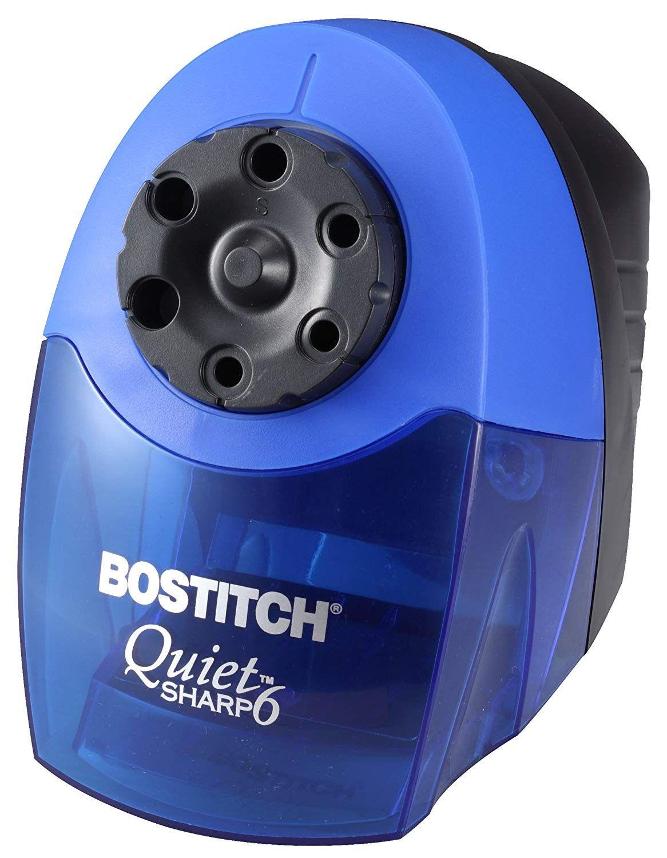 Bostitch quietsharp 6 heavy duty classroom electric pencil