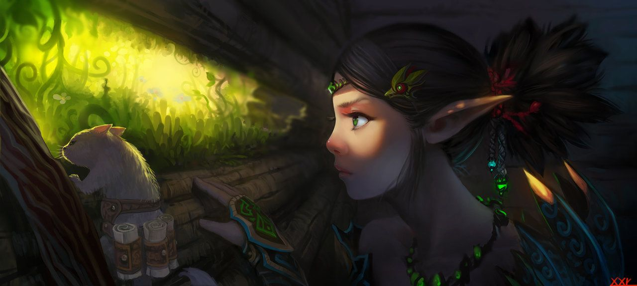 Collection: Amongst the Elves and Fae by techgnotic on DeviantArt
