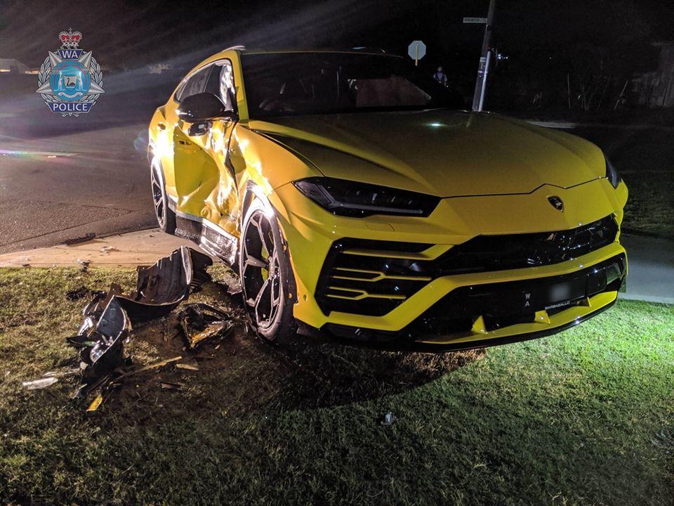 14 Year Old Steals Subaru Before Crashing Into Lamborghini Urus In