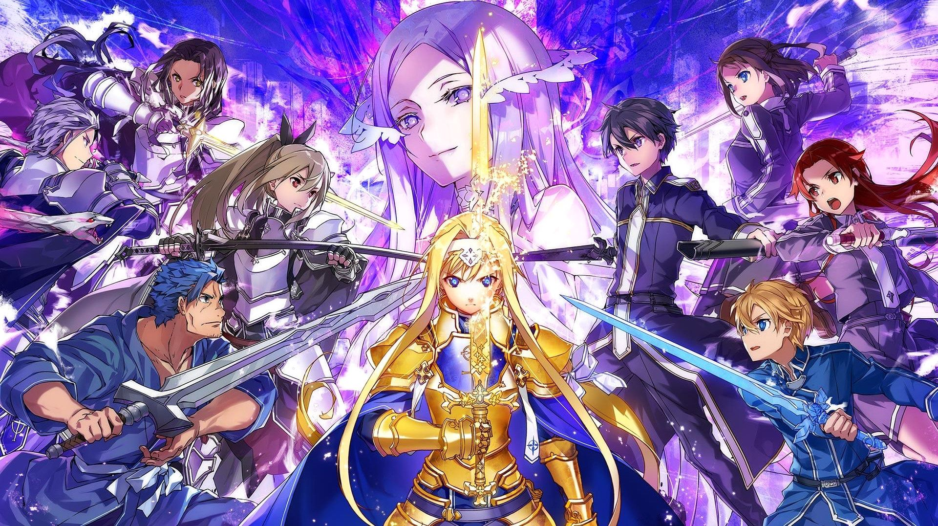 Sword Art Online New Download Sword Art Line Alicization Rising Steel On Pc Sword Art Sword Art Online Wallpaper Sword Art Online