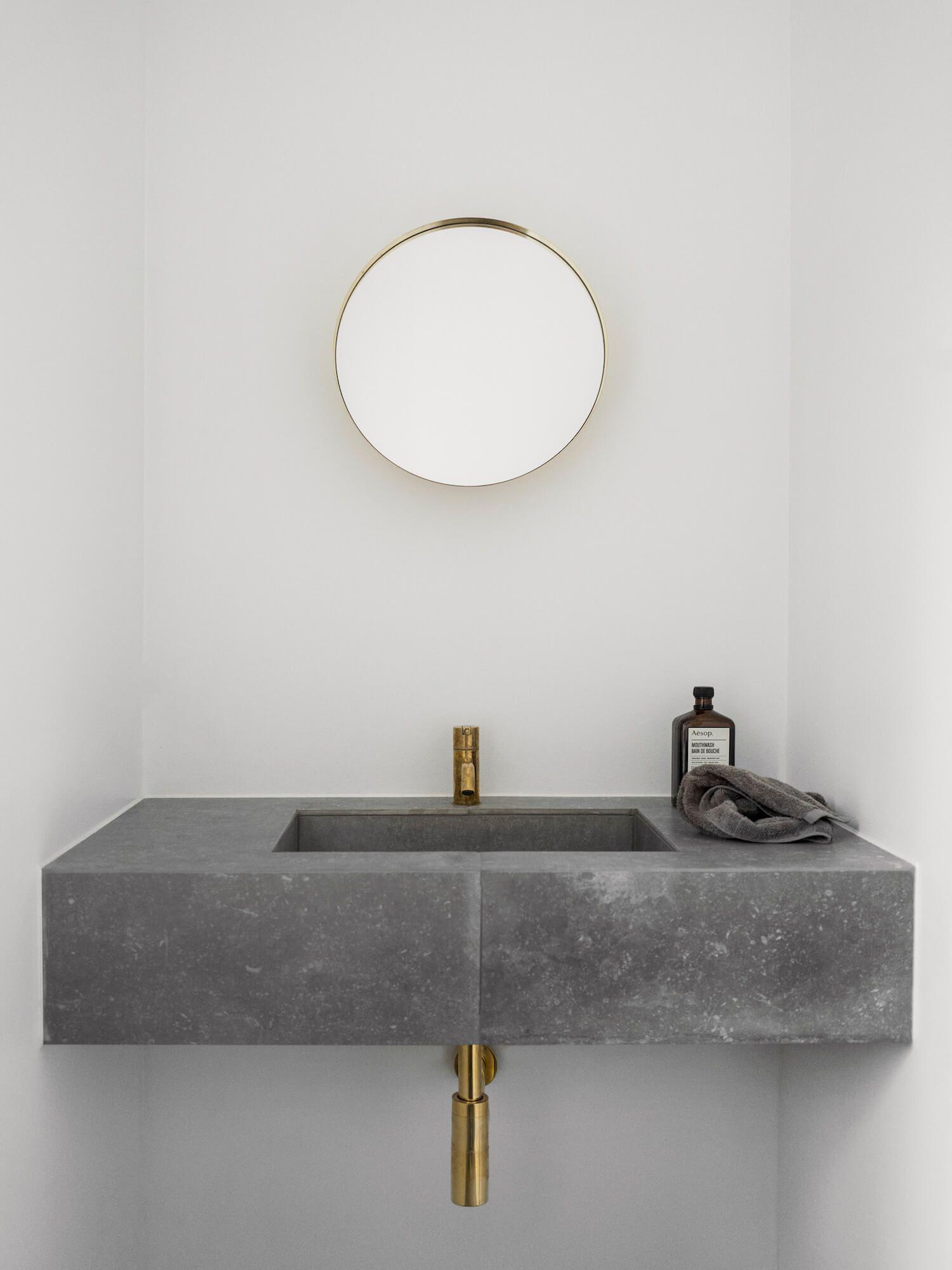 Poul Henningsen S Copenhagen Apartment By Norm Architects Est Living Minimalist Bathroom Modern Bathroom Amazing Bathrooms