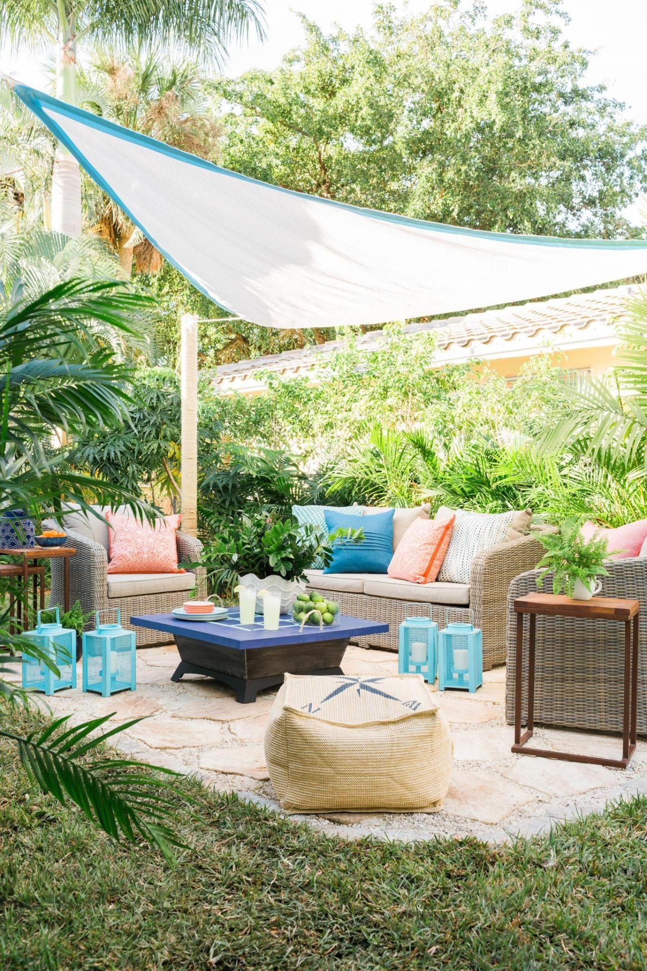 add outdoor living space with a diy paver patio back patio diy rh pinterest com