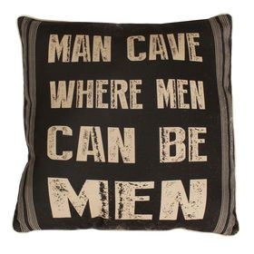 Picture of Man Cave Pillow 20-in