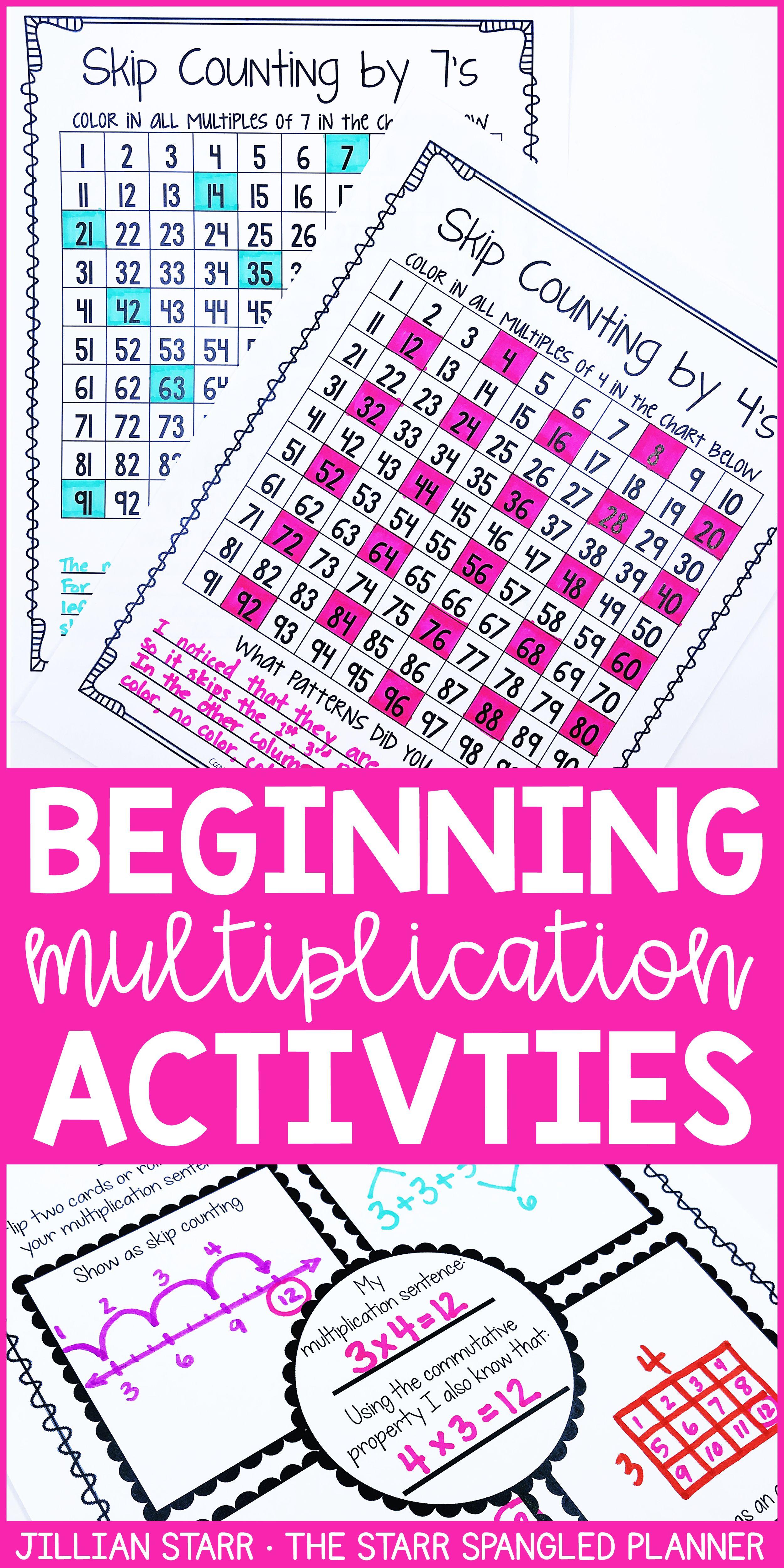 20 Multiplication Math Center Games & Activities   Multiplication ...