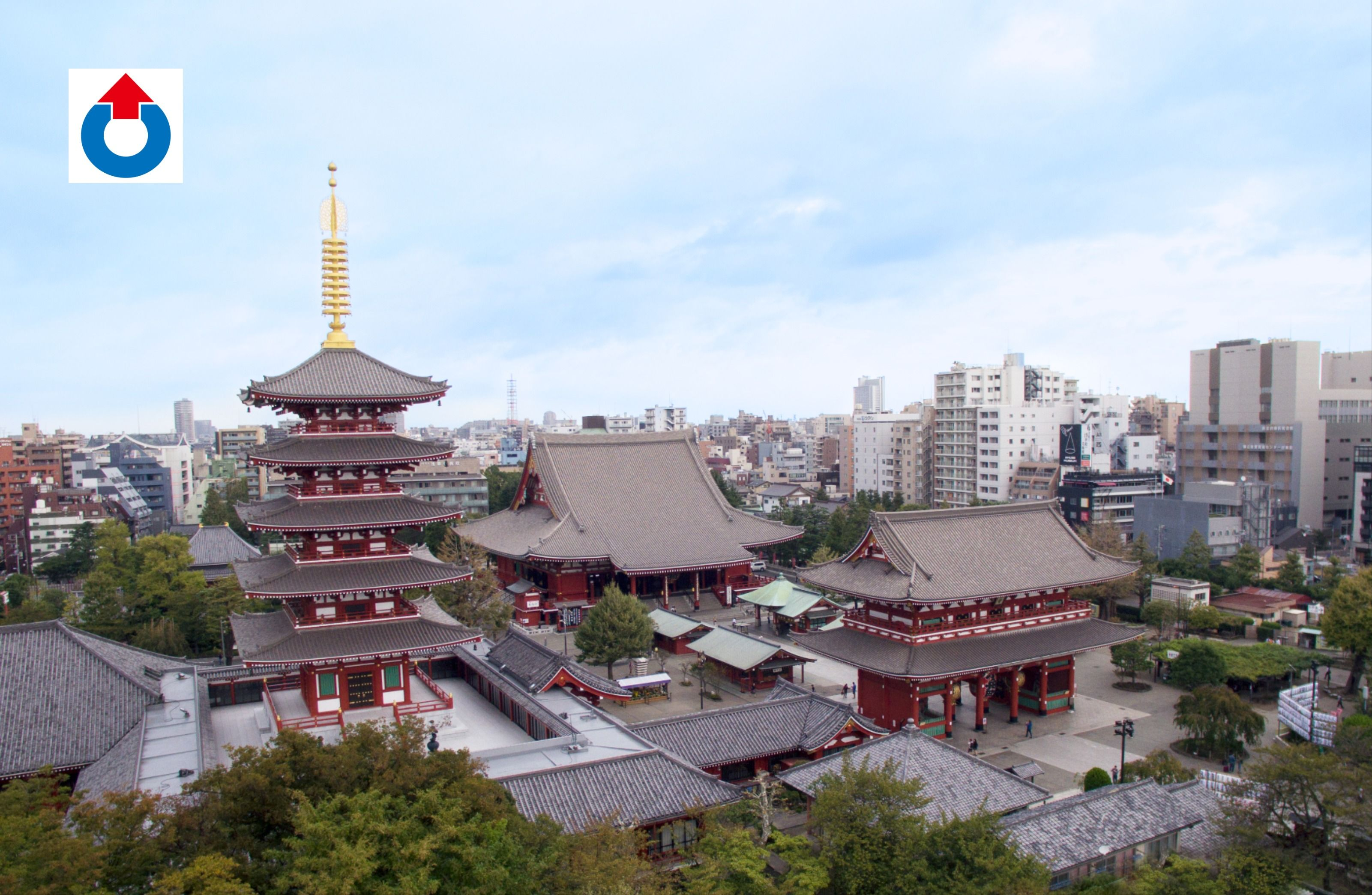 Photo of 浅草寺様チタン屋根改修