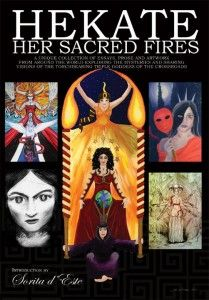 Hekate Her Sacred Fires is an exceptional book for an extraordinary, eternal and universal Goddess. It brings together essays, prose and artwork from more than fifty remarkable contributors from all over the world. Their stories and revelations are challenging, their visions and determination in exploring the mysteries are inspirational, and their enthusiasm for the Goddess of the Crossroads is truly entrancing and sometimes highly infectious. #wicca