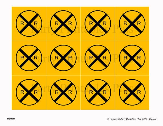 photograph about Railroad Crossing Sign Printable called Railroad Crossing Indicator Printable PRINTABLES: coloring e-book
