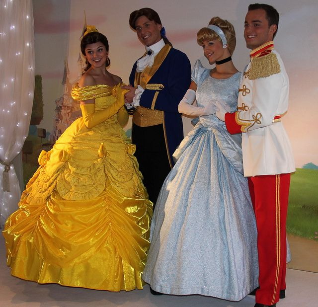 Belle Prince Adam Cinderella And Charming