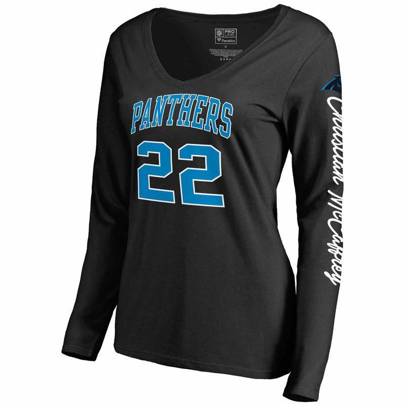 e99f43c3 Christian McCaffrey Carolina Panthers NFL Pro Line by Fanatics ...