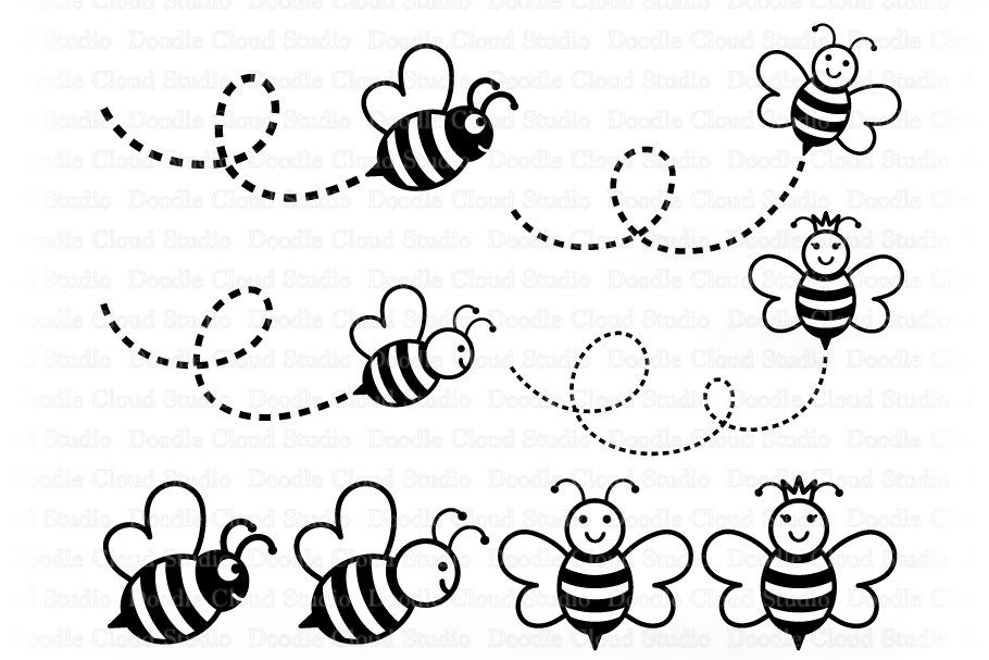 Bee Svg Cute Bee Svg Cute Queen Bee Svg Bee Svg Files For Etsy Bee Clipart Cute Bee Bee