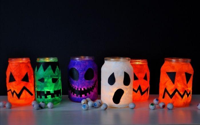 ▷ 1001 + idées de bricolage halloween en maternelle pour célébrez la fête d'halloween en toute originalité #weckgläserdekorieren