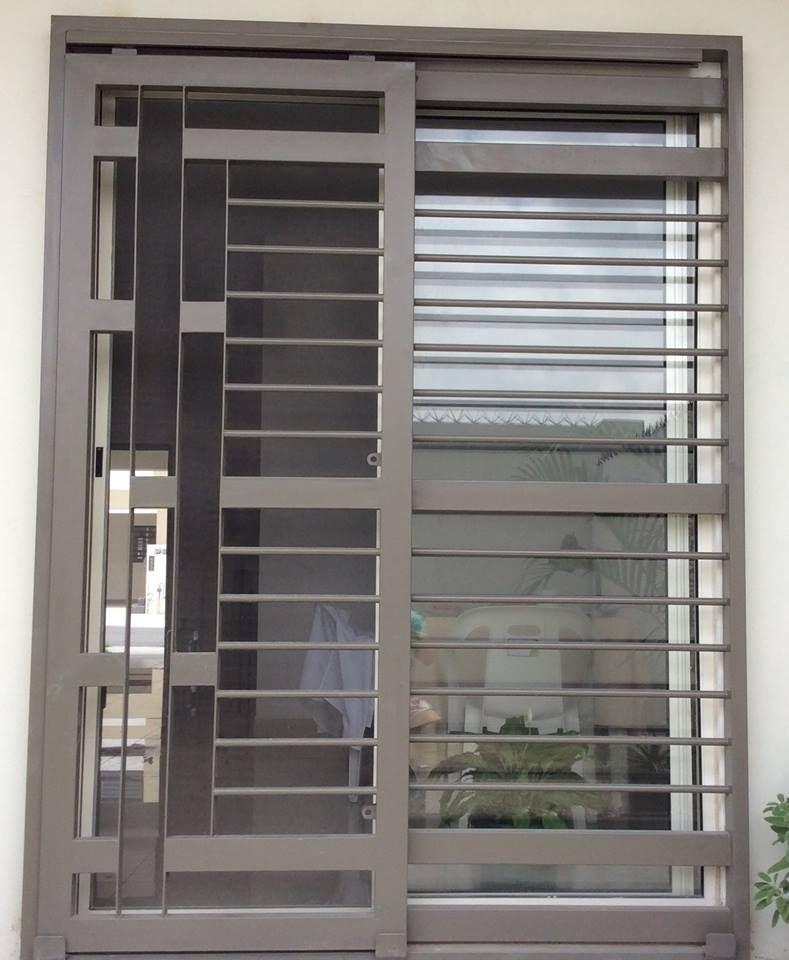 Puertas mosquiteras y corredizas herreria moderna 3d for Puertas corredizas de metal