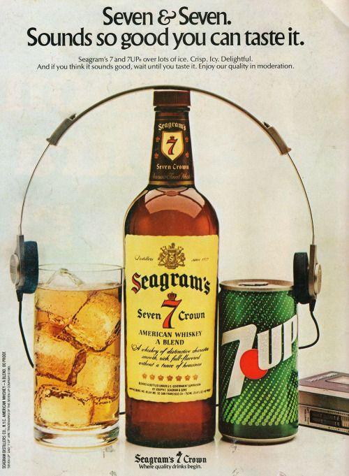 Advertising Pics, Seven & Seven. 1981 [1028x1400] Source:...