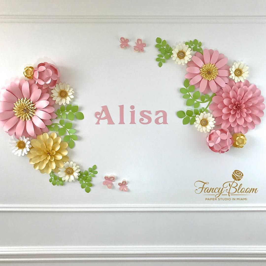 Likes  Comments  PAPER FLOWERS  DECORATION fancybloom on