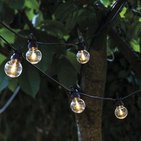 Ikarus De lucas led outdoor lichterkette für stylische gartenfeste