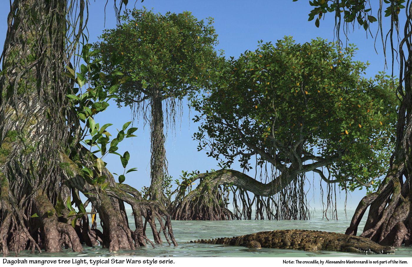 mangrove tree | Mangrove Tree / Dagobah mangrove tree Export ...