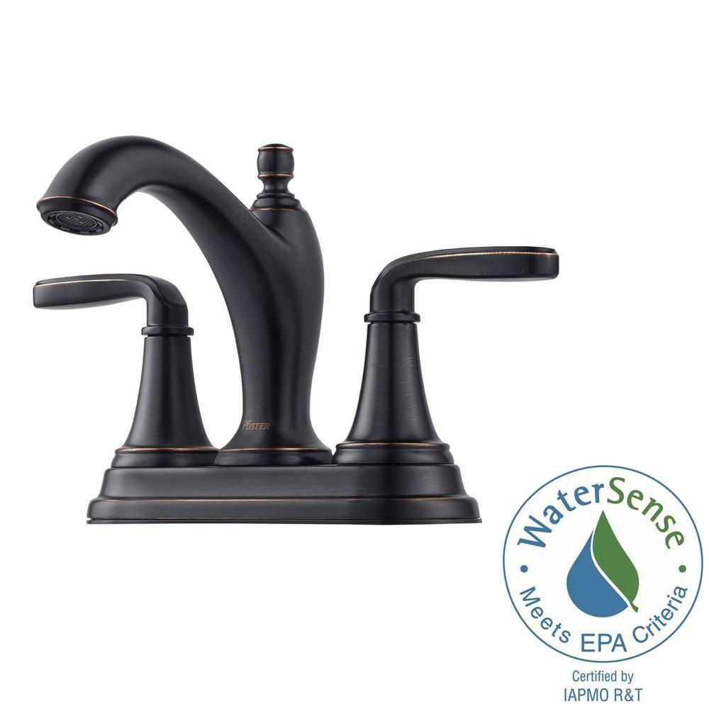 pfister northcott 4 in centerset 2 handle bathroom faucet in tuscan rh pinterest es