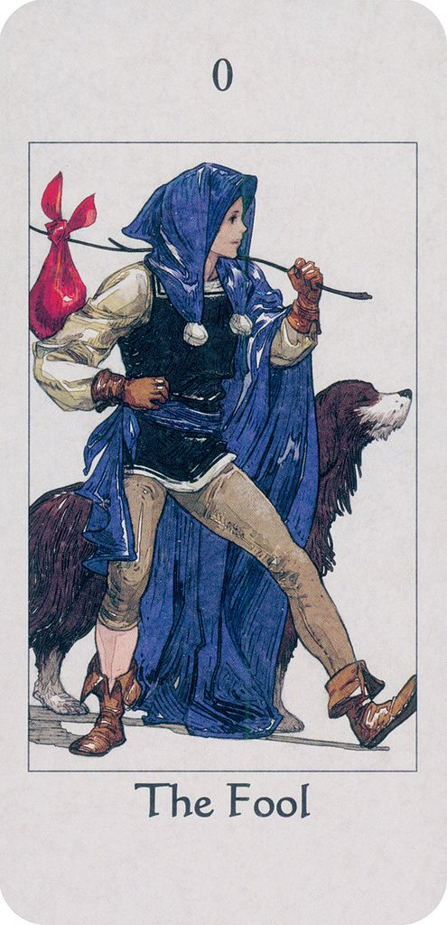 The Fool or The Jester is one of the 78 cards in a Tarot