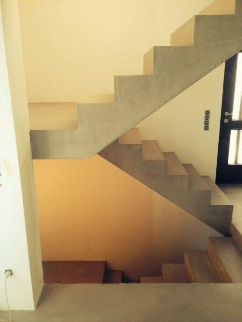 Beton Cire Treppe beton cire oberflächen in beton look sichtbetontreppe