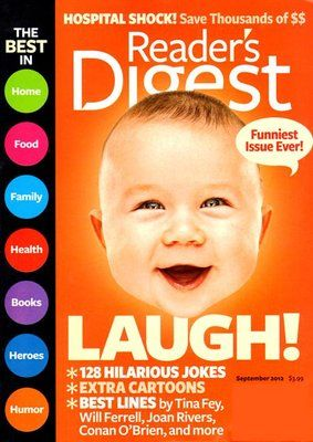 Reader's Digest Magazine Subscription - $3.99. https://www.tanga.com/deals/6eca9fb48d7/reader-s-digest-magazine-subscription