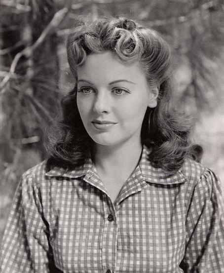 1940s hair and beauty. You won't find a woman like this these days.