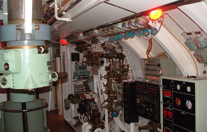 Субмарина!! Вид изнутри! (фото) | Подводные лодки и Вид