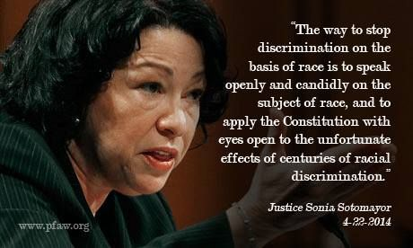 Justice Sotomayor on stopping discrimination in Schuette v. BAMN