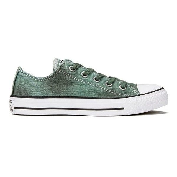 converse shoes high tops. top shoes · converse women\u0027s chuck taylor all star wash ox trainers - sage ($76) ❤ liked high tops