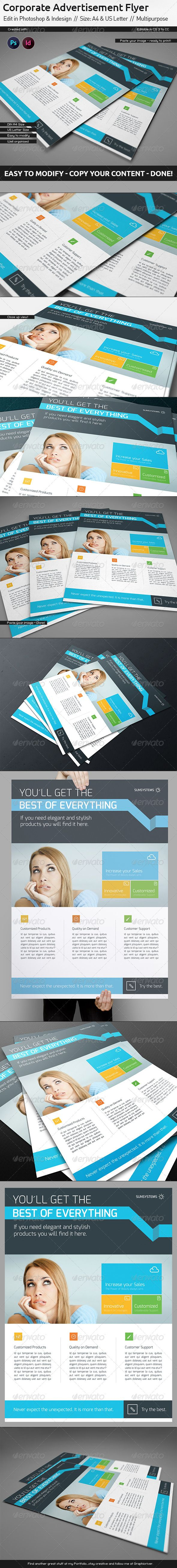 Corporate Flyer Ad Template US