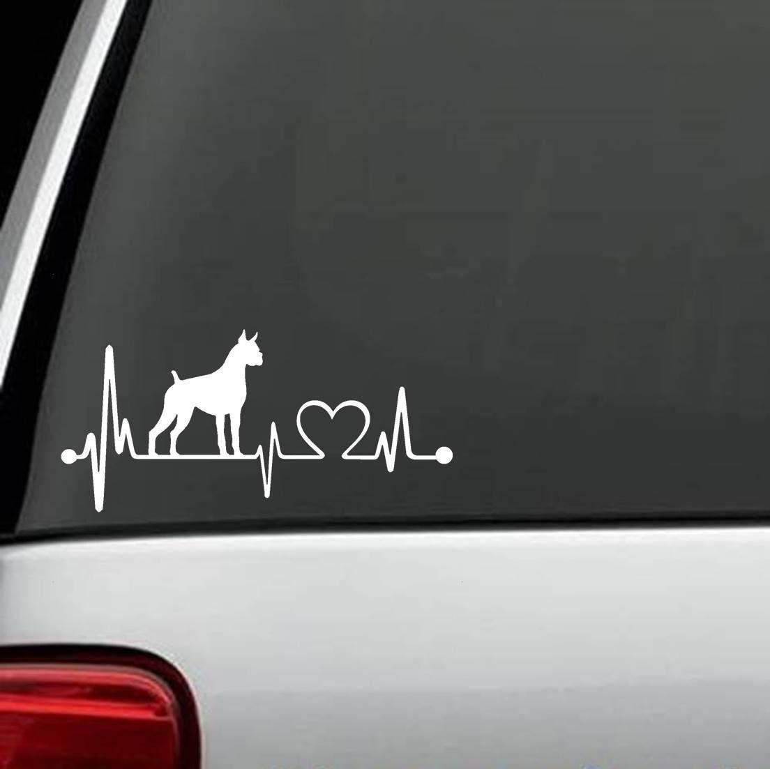 B1092 Pit Bull Pitbull Dog LOVE Decal Sticker for Car Truck SUV Van LAPTOP