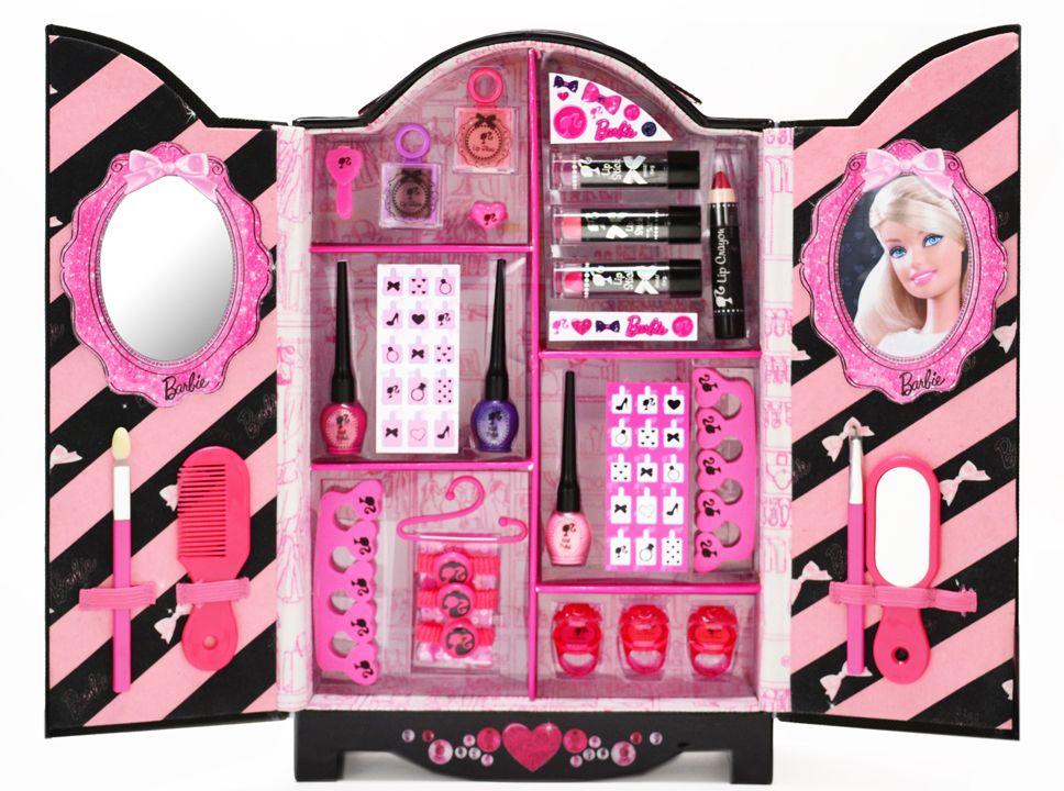 Barbie Fashion Wardrobe Barbie makeup, Barbie makeup kit